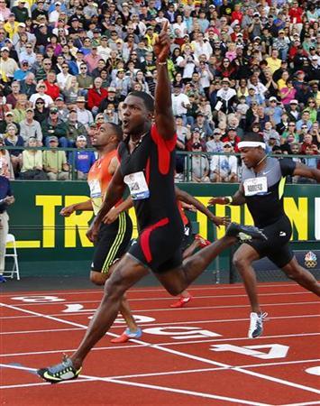 五輪=陸上男子100m、ガトリンとゲイが米国代表入り